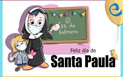 Feliz día de Santa Paula