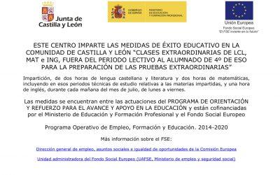 ÉXITO EDUCATIVO VERANO 2021